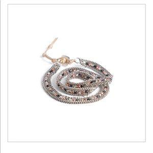 Nakamol Beaded Wrap Bracelet